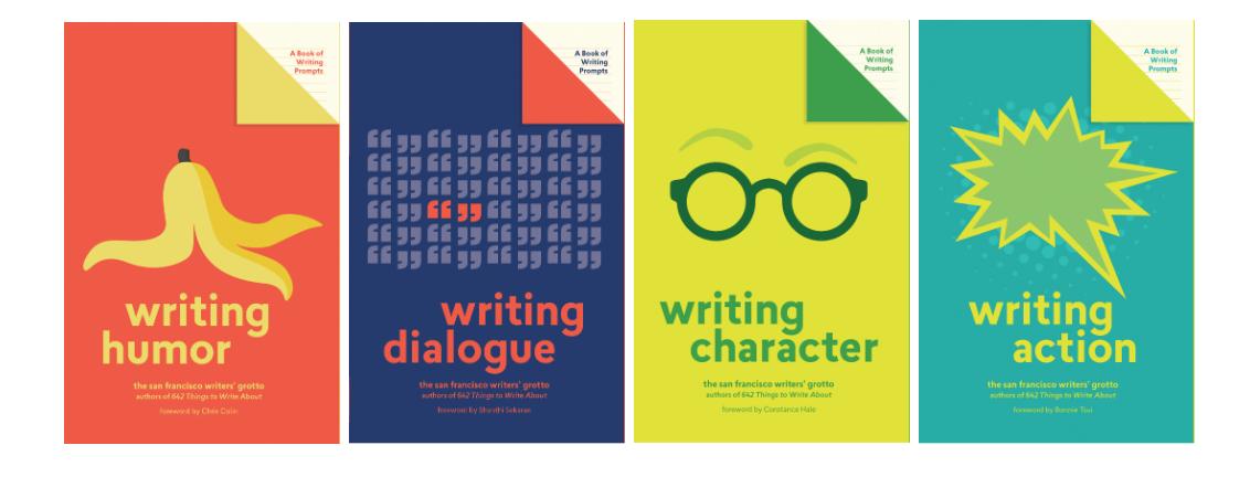 Lit Starts, Writers Grotto, writing books